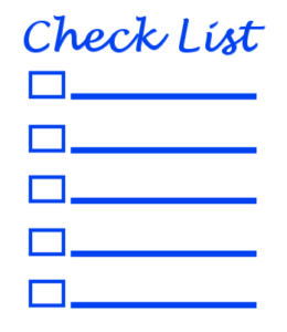 Make a mental checklist of improvements that will help your house sell