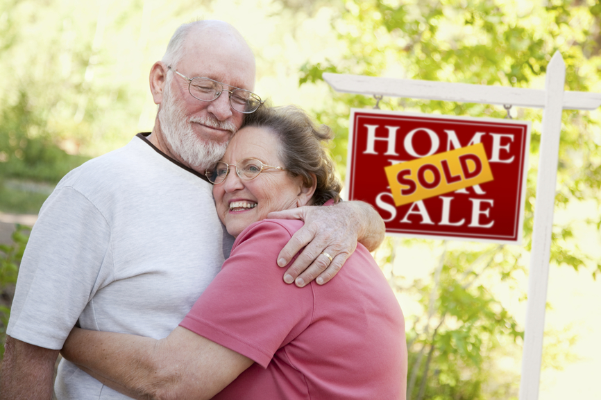 Older couple just sold their home
