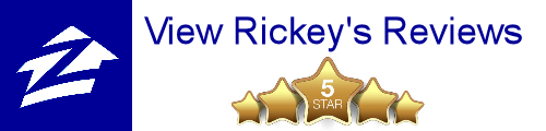 View Rickey's Ratings and Reviews on Zillow