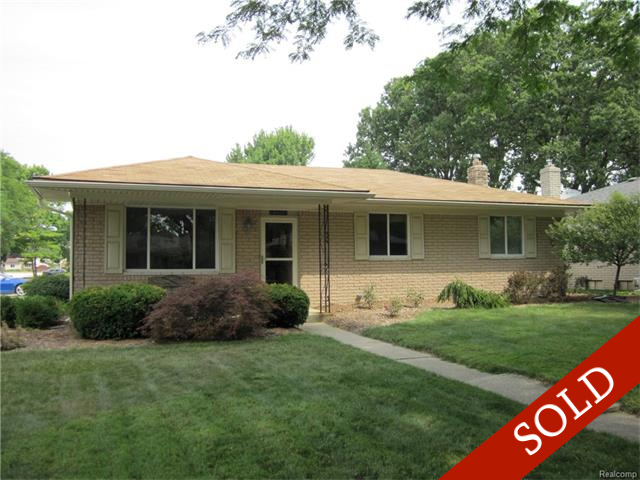 SOLD – 5477 Paris, Sterling Heights, 48310, MLS #217018160