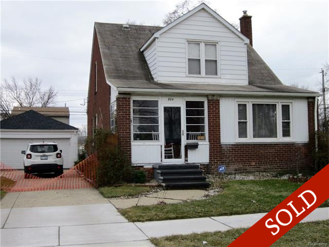 SOLD – 804 E Lincoln, Madison Heights, 48071, MLS #217009879