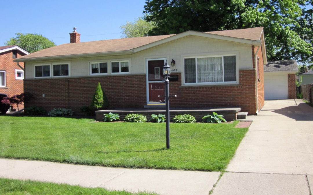 SOLD – 1664 Beaupre, Madison Heights, 48071, MLS #217044298
