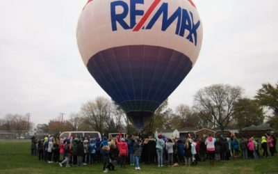 RE/MAX Hot Air Balloon at Lessenger Elementary School…