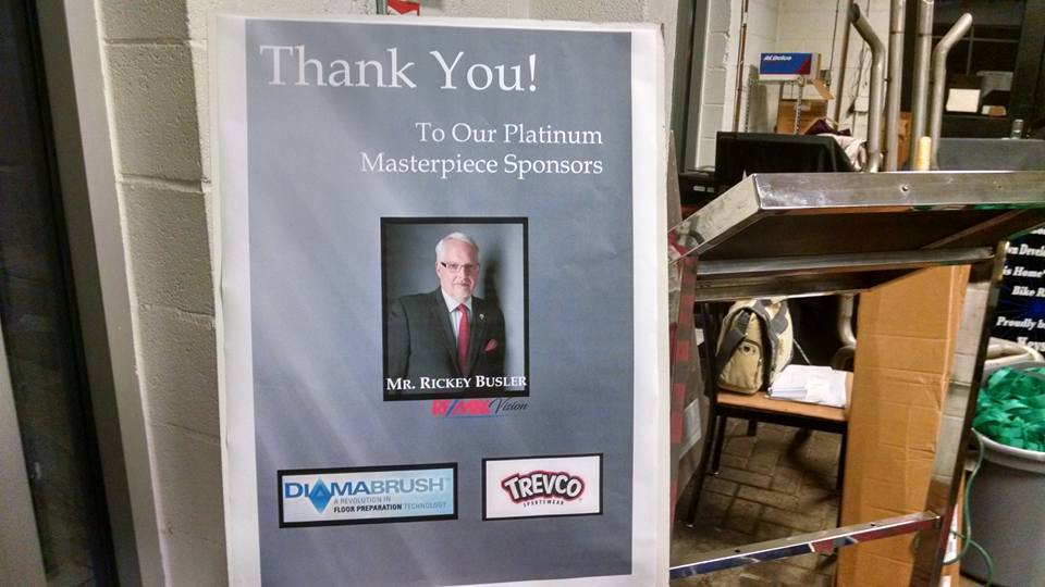 Proud to be a Platinum Sponsor for this year's DDA Art Challenge