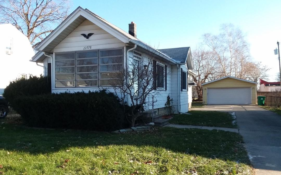 SOLD – 22778 Melrose in Eastpointe, 48021!! MLS #58031359734