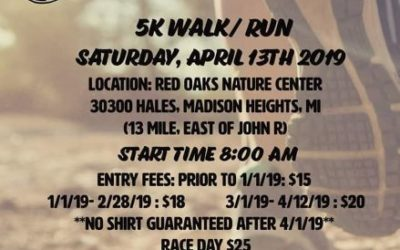 """Madison Heights """"Run For The Health Of It 5K"""" Corporate Sponsorship!!"""
