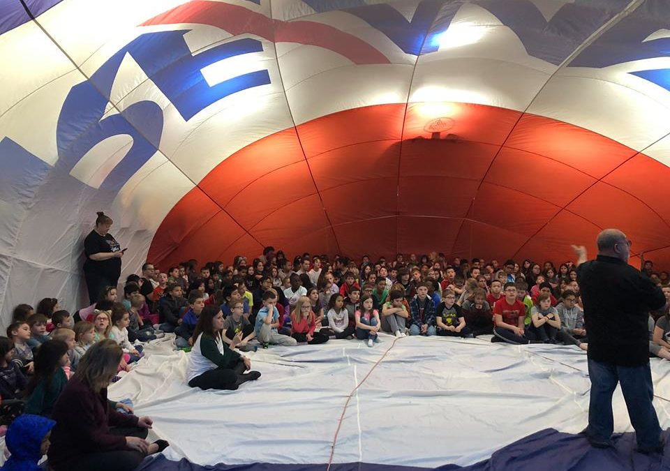 RE/MAX Hot Air Balloon Event at Simonds Elementary