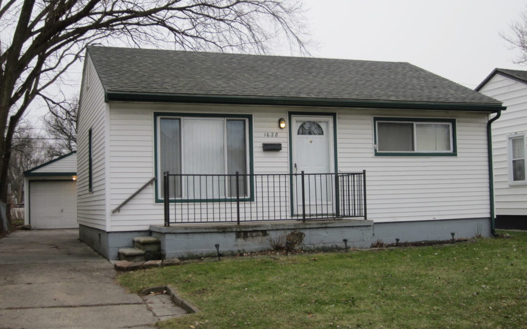 I am Proud to Introduce this Attractive, Updated Home at 1628 E. Granet in Hazel Park, 48030!! Being Offered for $84,444!