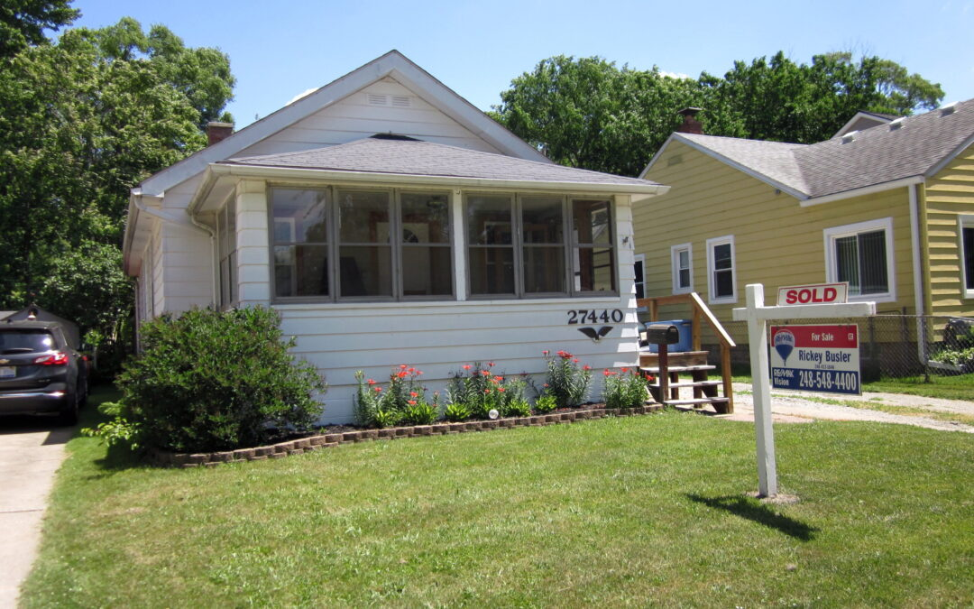 My Simply Amazing Sellers, and now Friends, of 27440 Park Ct. in Madison Heights recently said…