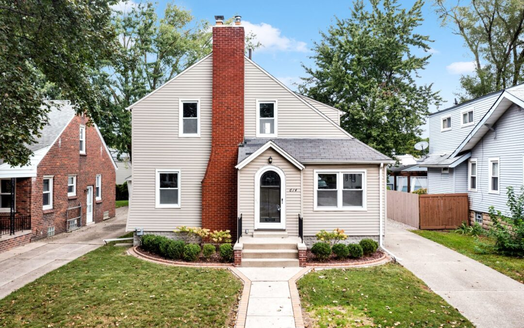 I am Seriously Excited to Introduce this Stunning Dutch Colonial Home at 614 W Troy in Ferndale, 48220!! This Home is being Offered for $302,222!
